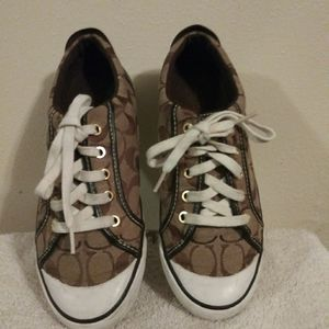 Coach Sneakers Sz 8